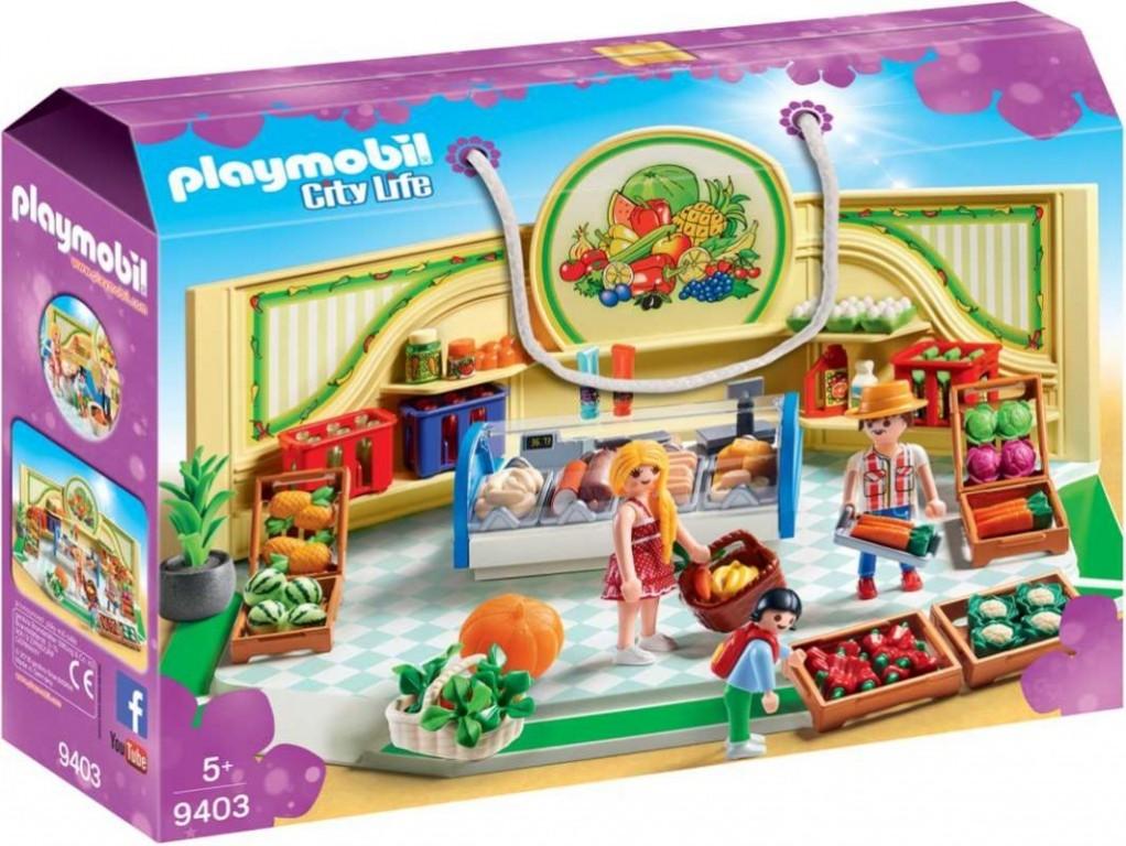 Playmobil 9403 Prodejna zdravé výživy