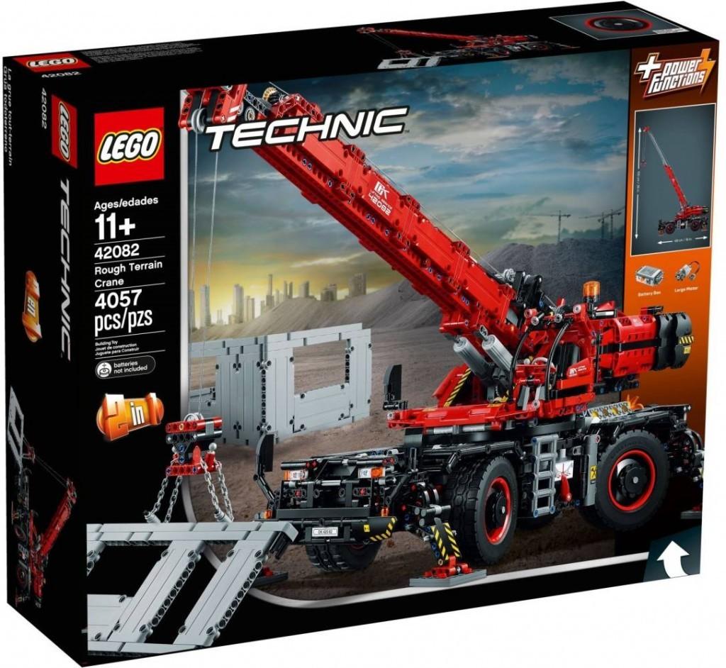 Lego LEGO Technic 42082 Terénní jeřáb