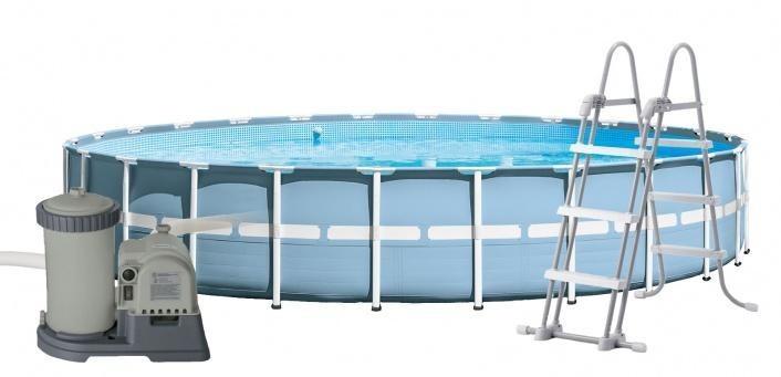 Bazén Intex Prism Frame 7,32 x 1,32 m | kompletset s filtrací