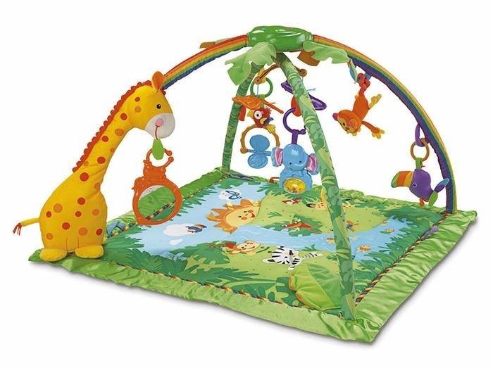 Fisher Price Rainforest Světelná a hudební hrací deka