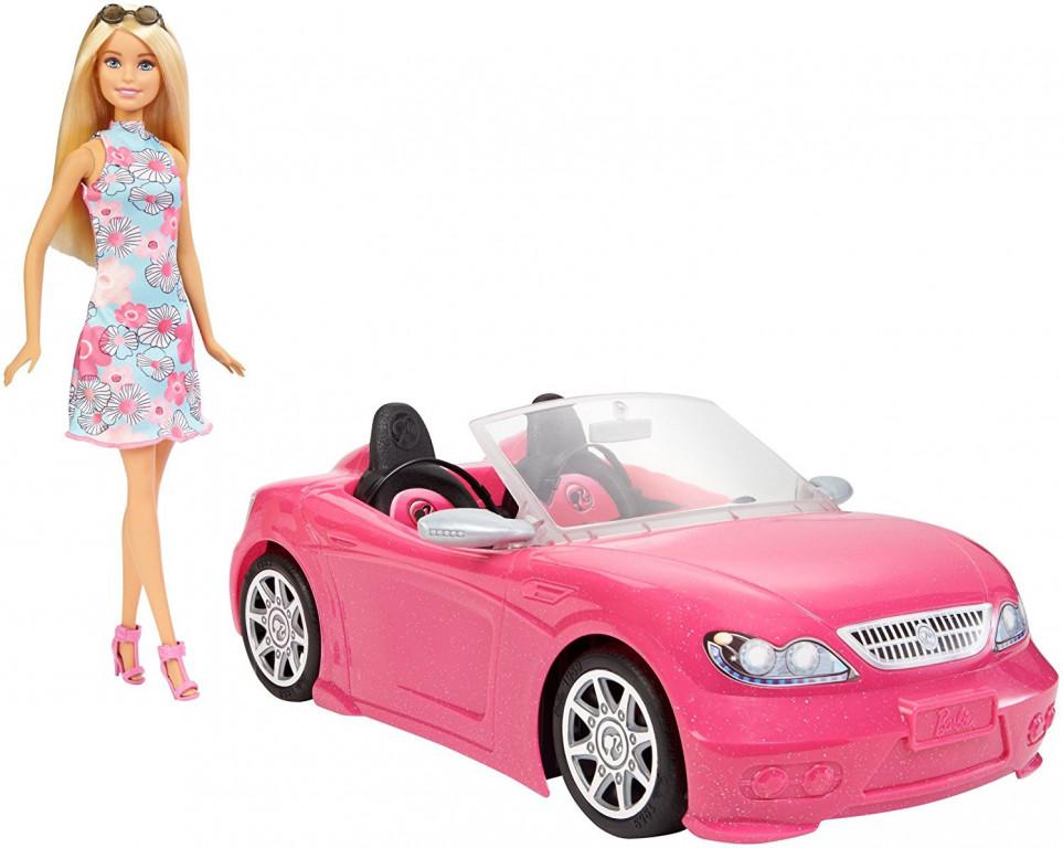 Mattel Barbie Auto + panenka