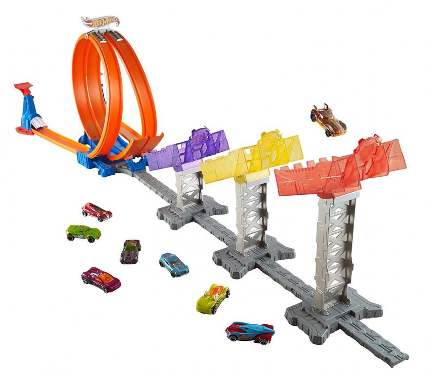 Mattel Hot Wheels Rychlodráha super skóre