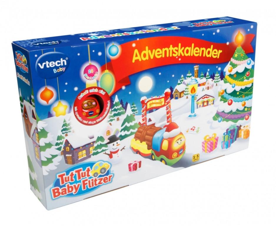 Adventní kalendář Vtech Tut Tut Baby Flitzer