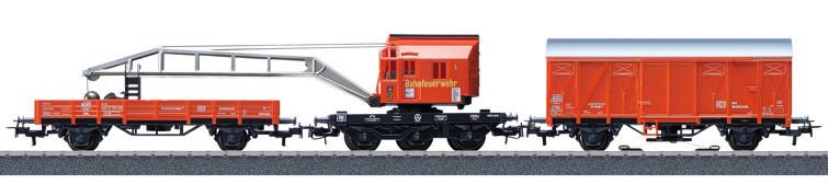 Märklin 44752 Start set Jeřábový vlak požární stanice