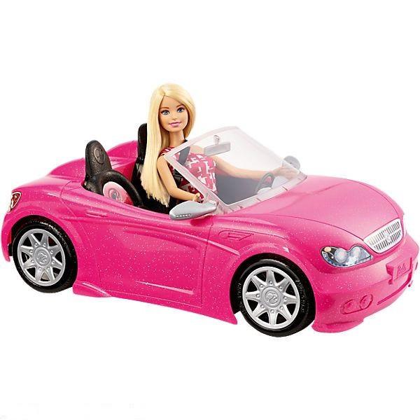 Mattel Barbie Auto s panenkou