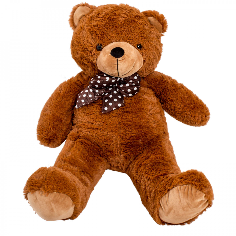 Goleto Velký plyšový medvěd Charlie 90 cm | hnědý