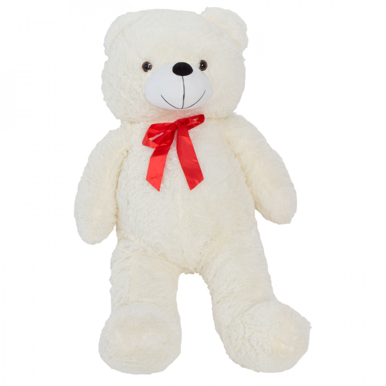 Goleto Velký plyšový medvěd Josie 90 cm | bílý