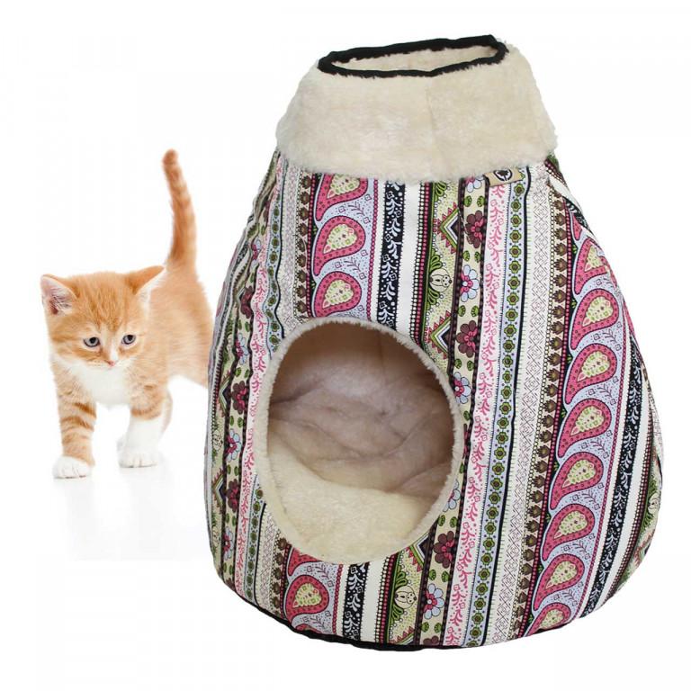 Pelíšek pro kočky Maja 40 x 35 x 40 cm