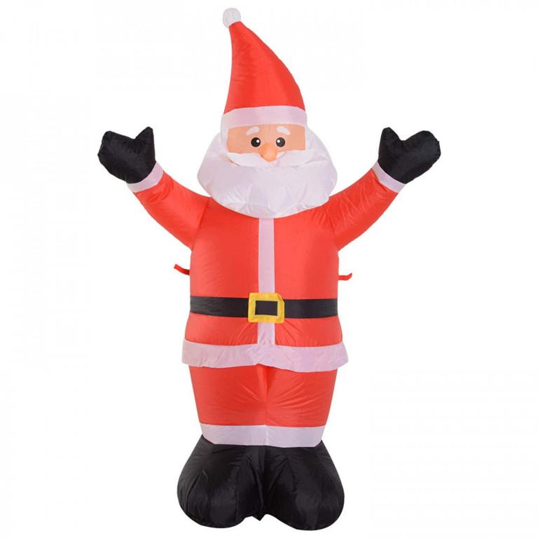 Nafukovací Santa Claus s LED osvětlením 120 cm