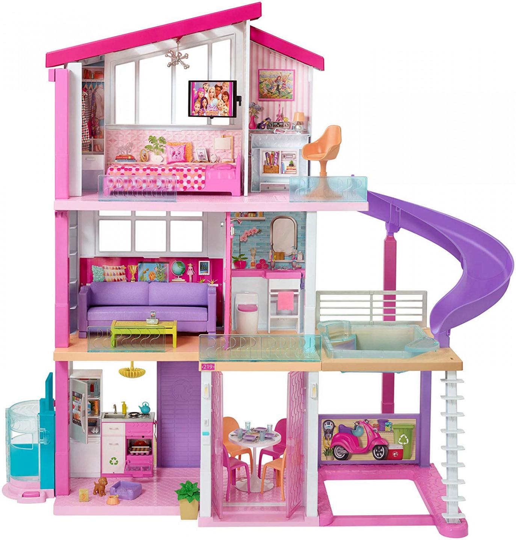 Mattel Mattel Barbie Dům snů se skluzavkou MATTEL 0887961531282