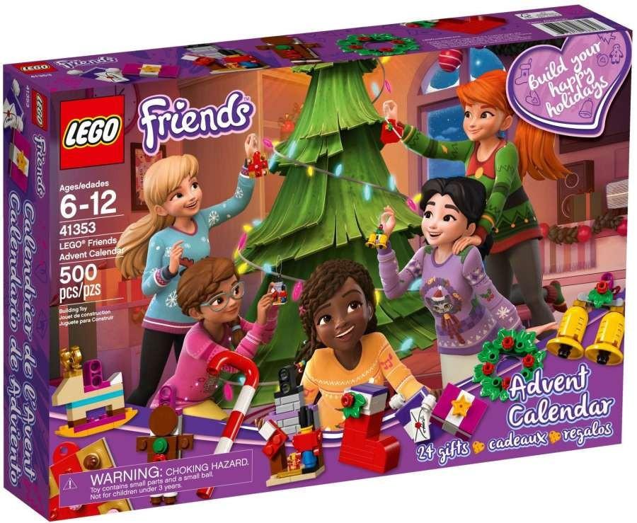 Adventní kalendář LEGO Friends 41353
