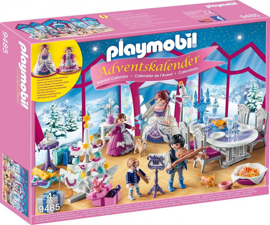 Adventní kalendář Playmobil 9485 Křišťálový palác