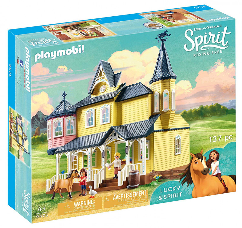Playmobil 9475 Šťastný domov Lucky