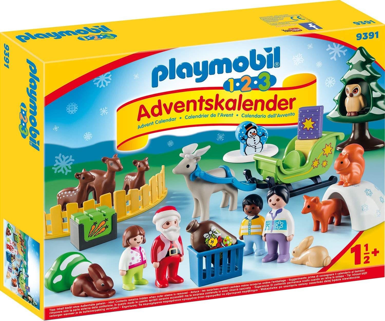 Playmobil Adventní kalendář Playmobil 9391 Vánoce v lese 1.2.3