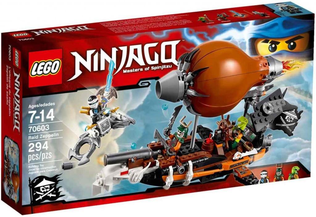 LEGO Ninjago 70603 Útočná vzducholoď