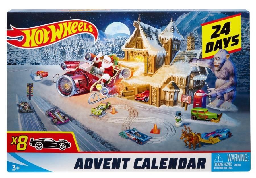 Adventní kalendář Hot Wheels 2018
