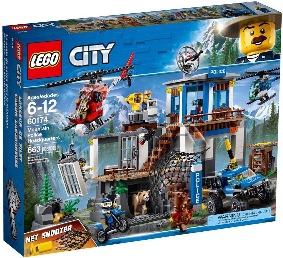 Lego LEGO City 60174 Horská policejní stanice
