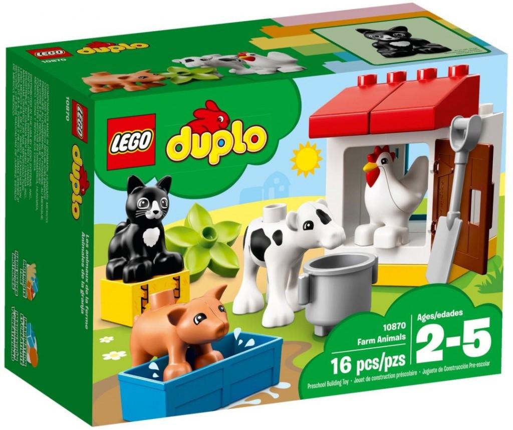 Lego LEGO Duplo 10870 Zvířátka z farmy