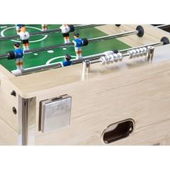 Stolní fotbal fotbálek Profi Leeds 140x73x87cm | světlý č.3