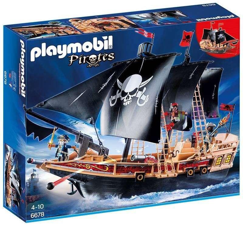 Playmobil Playmobil 6678 Pirátská bitevní loď