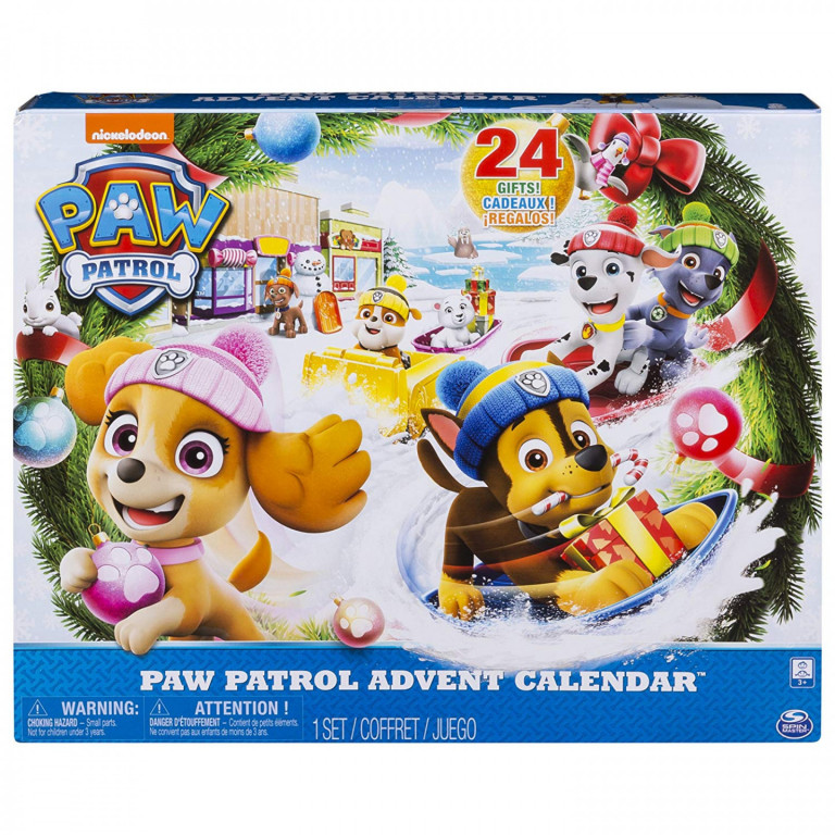 Adventní kalendář Tlapková patrola 2018