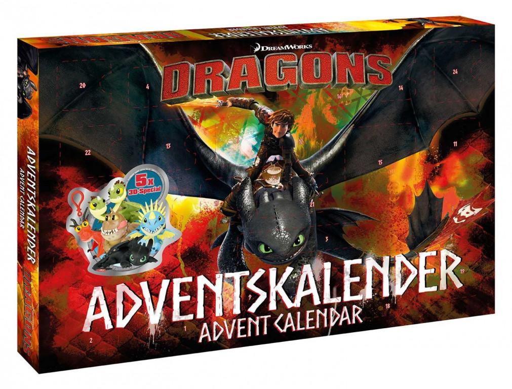 Adventní kalendář Dragons Craze