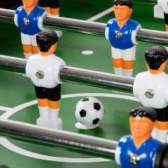 Stolní fotbal fotbálek Profi Leeds 140x73x87cm | černý č.3