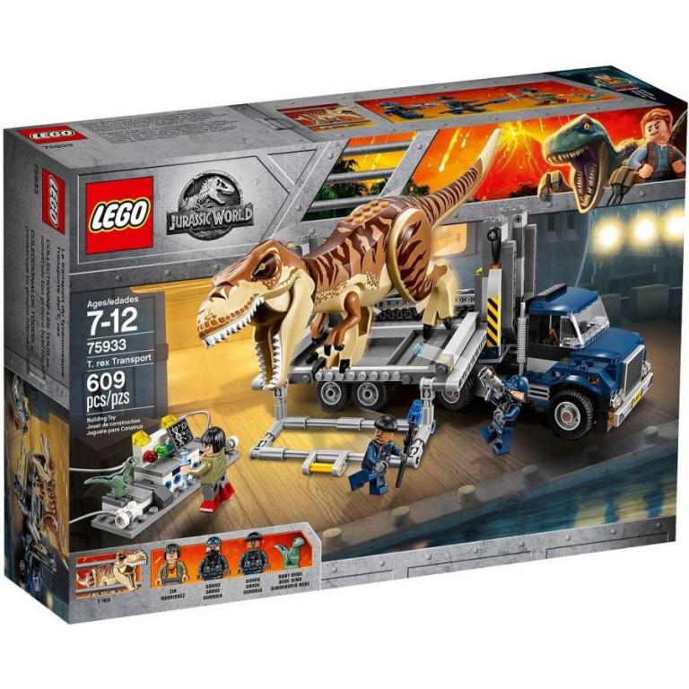LEGO Jurassic World 75933 Přeprava T-Rexe