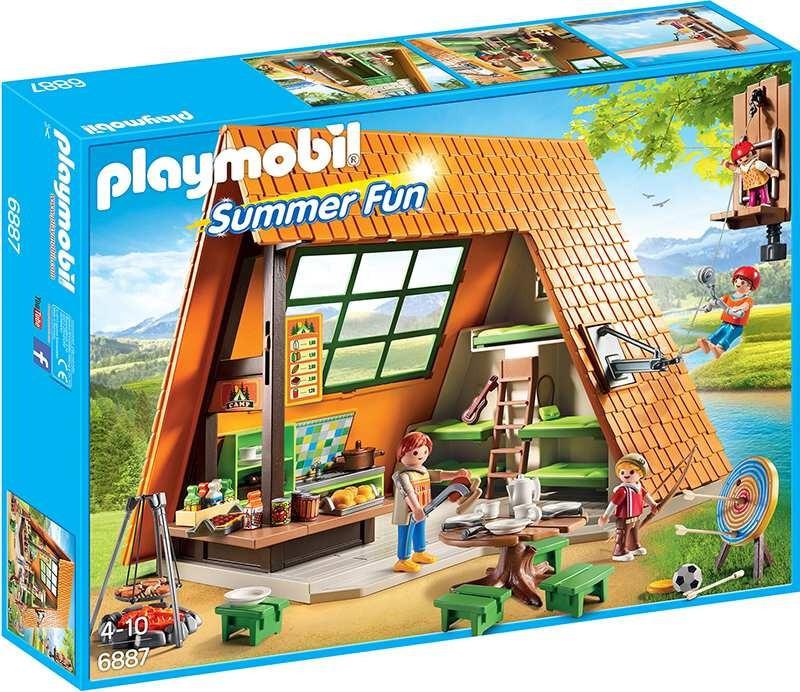 Playmobil 6887 Velký letní tábor