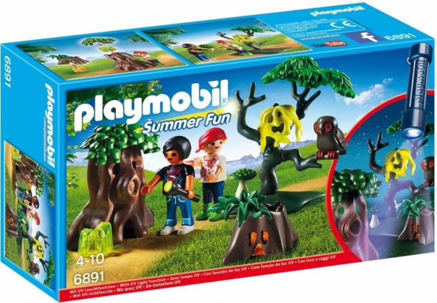 Playmobil 6891 Noční stezka odvahy s UV světlem