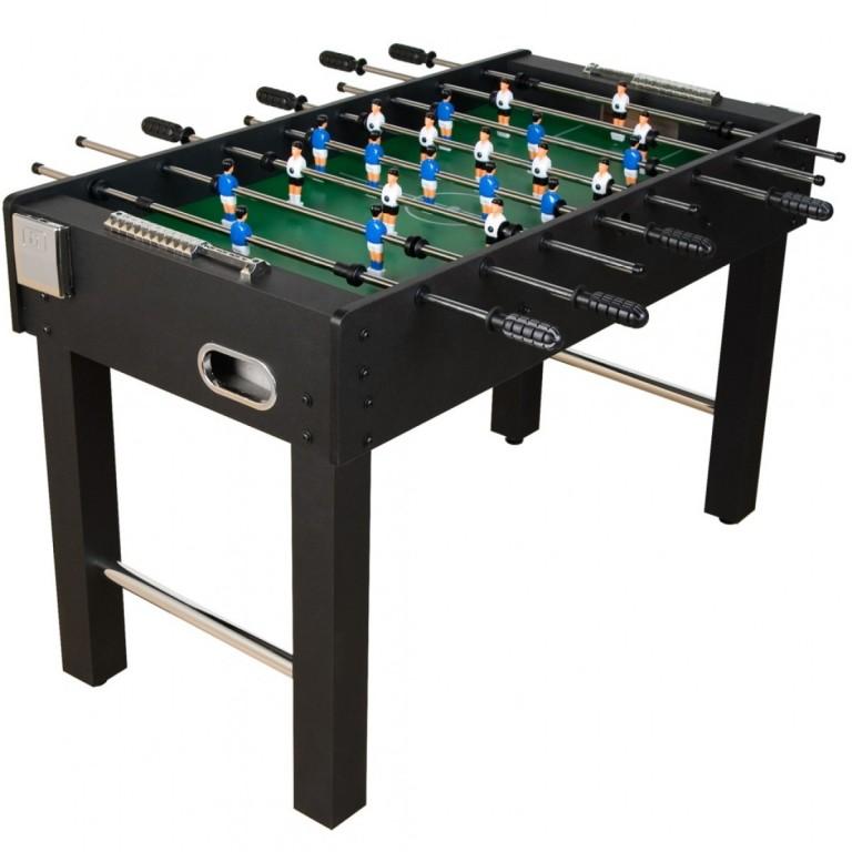 Stolní fotbal fotbálek Glasgow 121x101x79 cm, černý