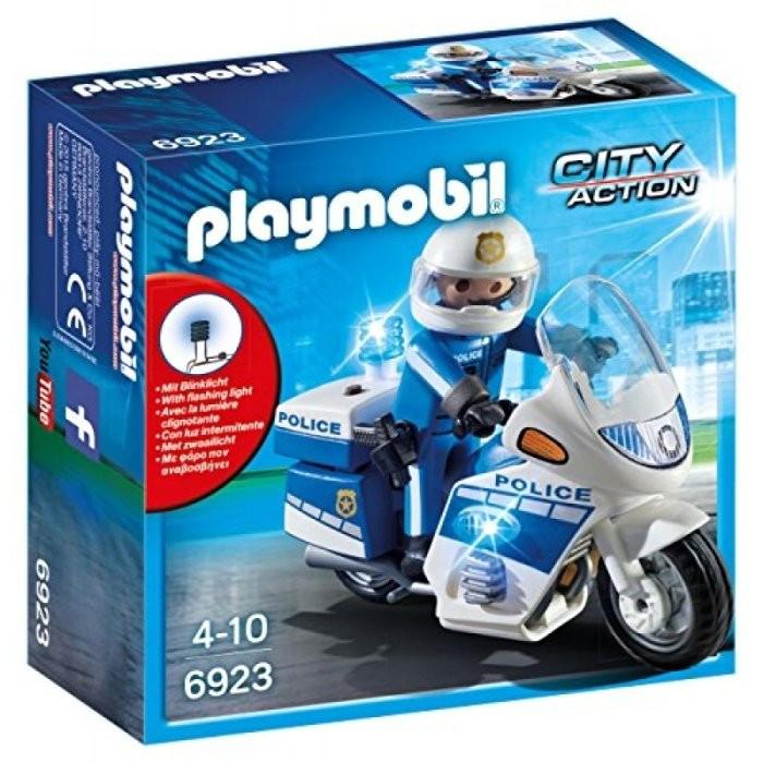 Playmobil 6923 Motohlídka s LED majákem