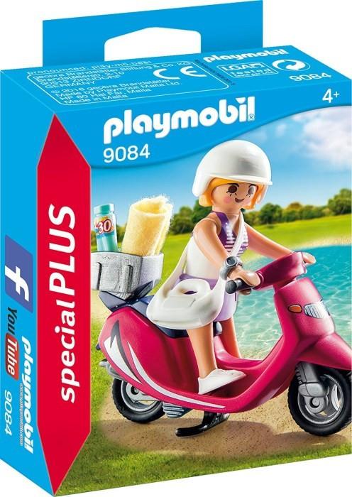 Levně Playmobil Playmobil 9084 Dívka na skútru
