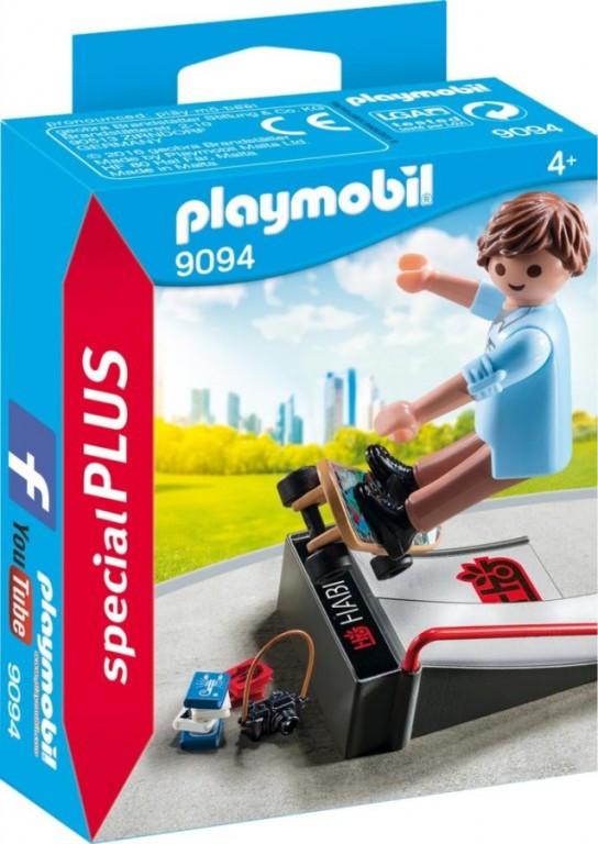 Playmobil Playmobil 9094 Skejťák s rampou Playmobil