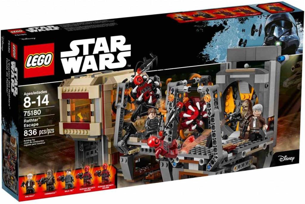 Lego LEGO Star Wars 75180 Rathtarův útěk