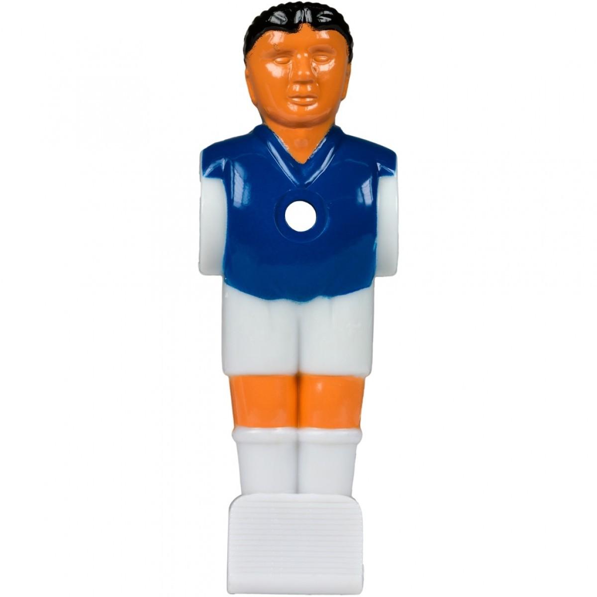 Náhradní hráč pro stolní fotbal fotbálek (na 15,9 mm tyč) modrý 1 ks
