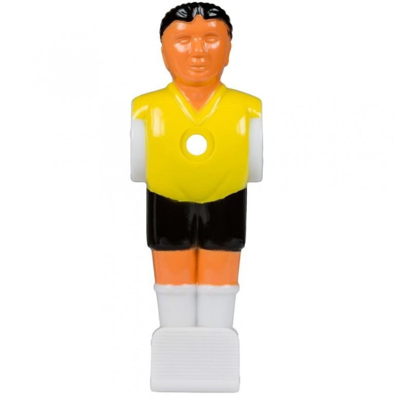 Náhradní hráč pro stolní fotbal fotbálek (na 15,9 mm tyč) žlutý 1 ks