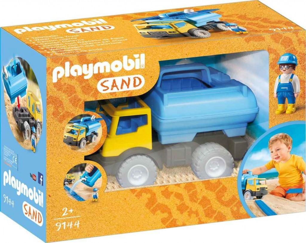 Playmobil Playmobil 9144 Cisterna na vodu, auto na písek