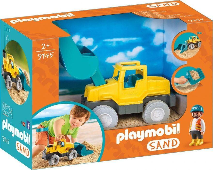 Playmobil Playmobil 9145 Bagr na písek
