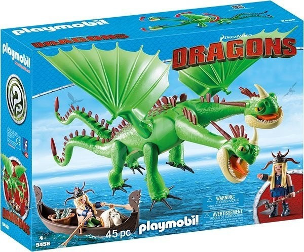 Playmobil 9458 Rafana a Ťafan s Krkounem a Blivounem