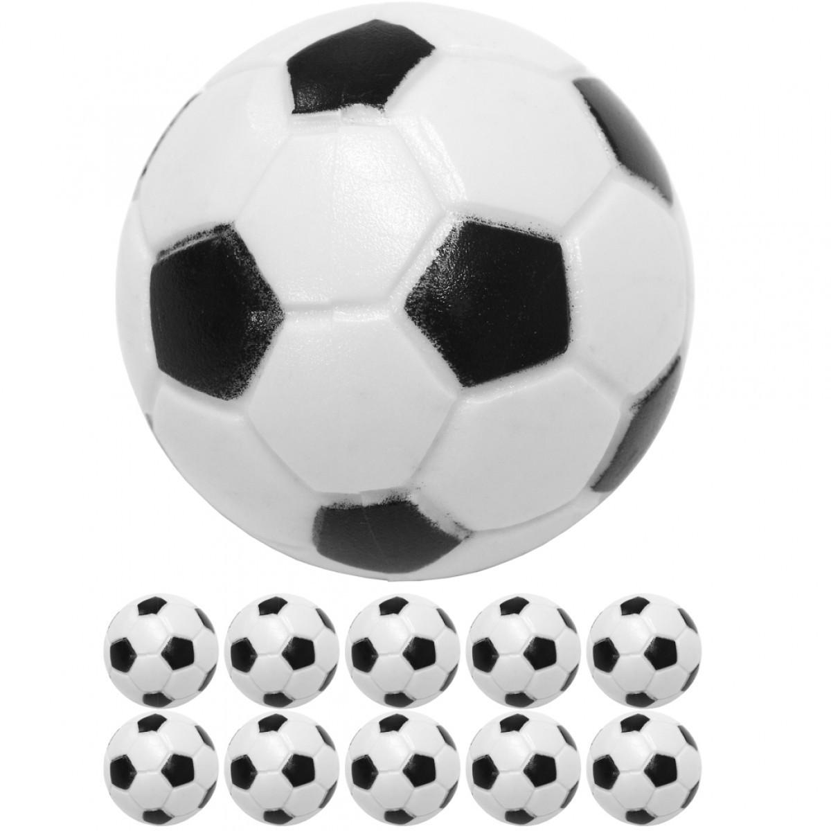 Goleto Náhradní míček pro stolní fotbal fotbálek 31 mm 10 ks