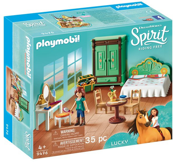 Playmobil 9476 Ložnice Lucky
