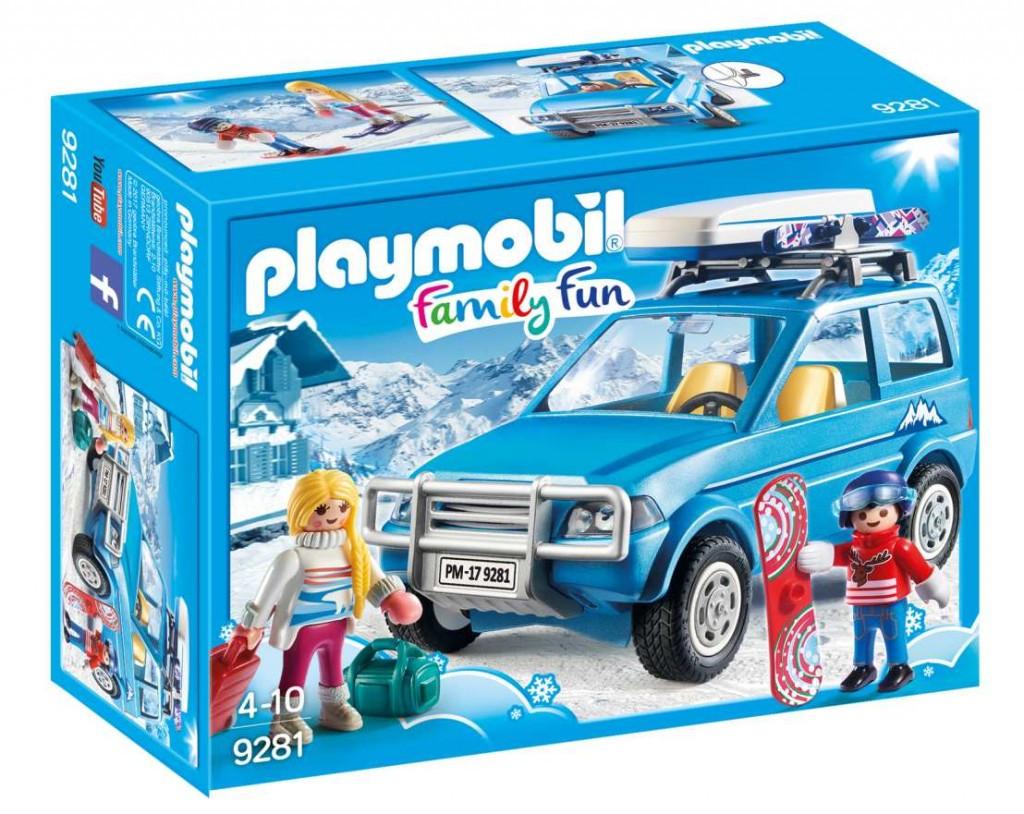 Playmobil Playmobil 9281 SUV Auto se střešním boxem