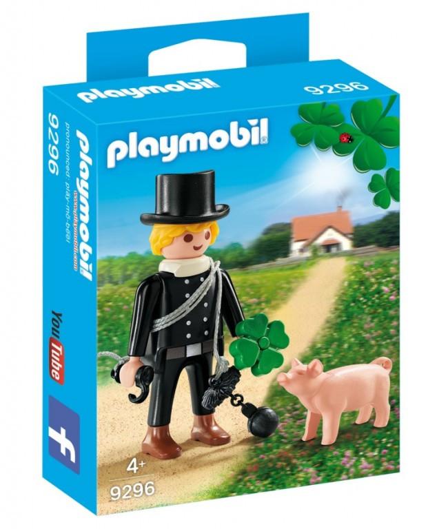 Levně Playmobil Playmobil 9296 Kominík s prasátkem
