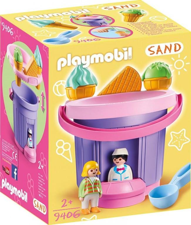 Playmobil Playmobil 9406 Sada na písek Zmrzlinářství