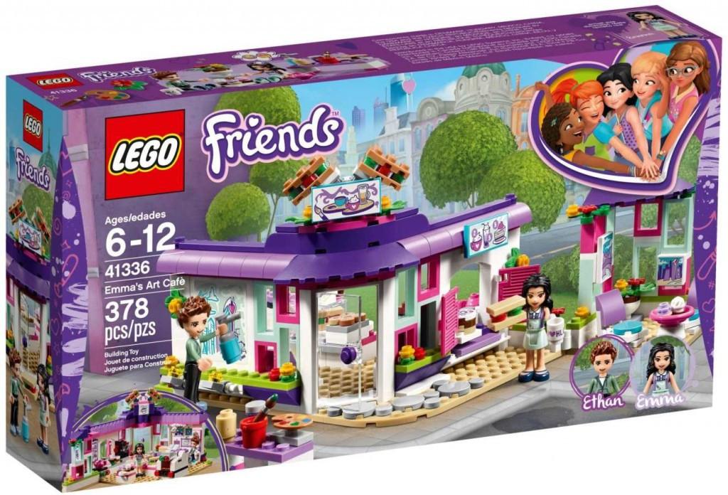 Lego LEGO Friends 41336 Emma a umělecká kavárna