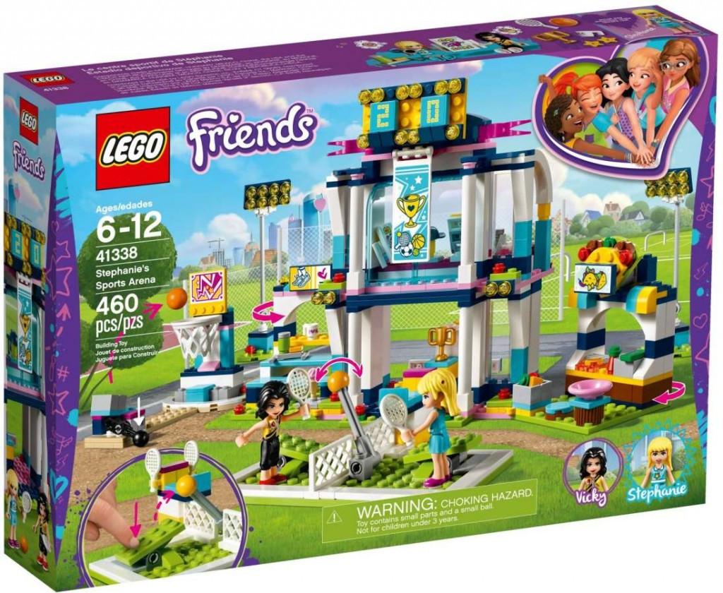 Lego LEGO Friends 41338 Stephanie ve sportovní aréně