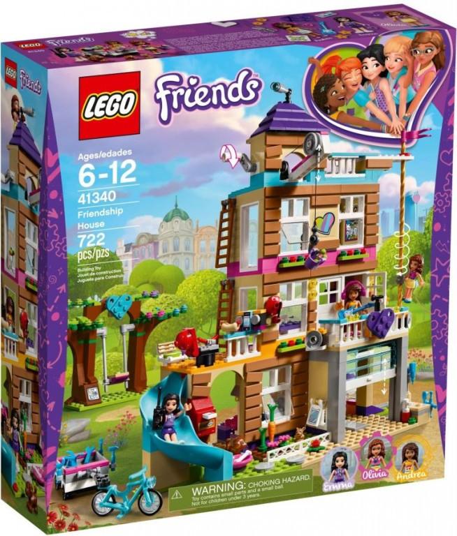 Lego LEGO Friends 41340 Dům přátelství