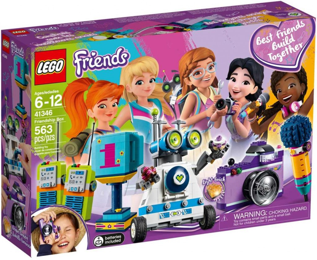 Lego LEGO Friends 41346 Krabice přátelství