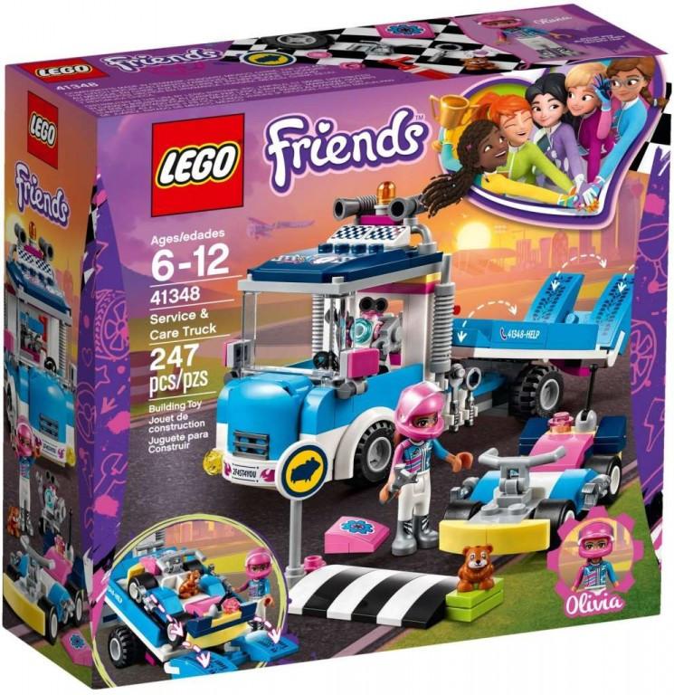 Lego LEGO Friends 41348 Servisní vůz